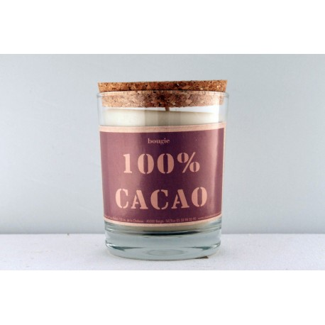 Bougie 100% cacao