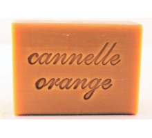 Savon au beurre de karité - CANNELLE ORANGE