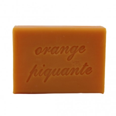 Savon orange piquante