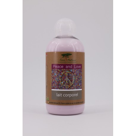 Lait corporel Peace & Love 250 ml
